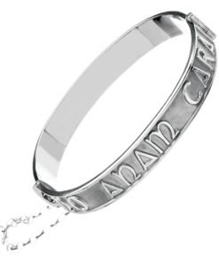 'Mo Anam Cara' Sterling Silver Bangle