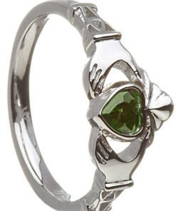 Birthstone Claddagh - May