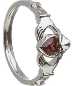 june birthstone claddagh rings