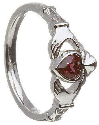 june birthstone claddagh rings