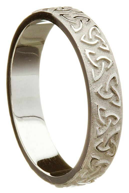 Sterling Silver Trinity Knot Band