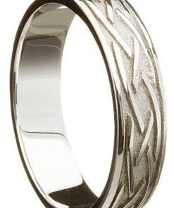 Sterling Silver Celtic Weave Ring