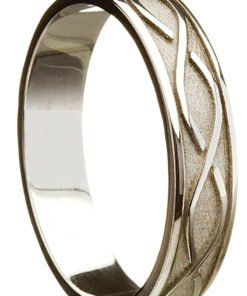 Traditional Celtic Weave Wedding Ring