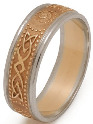 celtic shield ring
