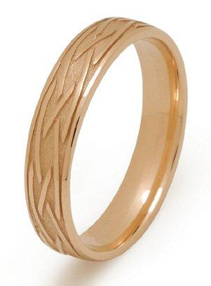 Gold Celtic Weave Wedding Ring