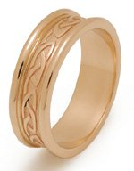 Traditional Celtic Knot Wedding Ring