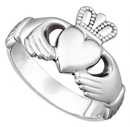 Heart Ladies Claddagh Ring
