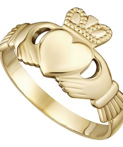 Yellow Gold Maids Classic Claddagh