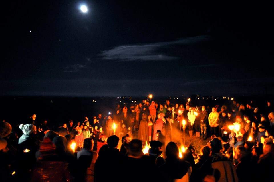 The origin of Halloween is the Celtic festival of Samhain