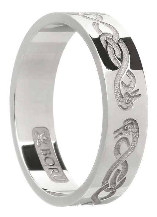 Sterling Silver 'Le Cheile' Ring