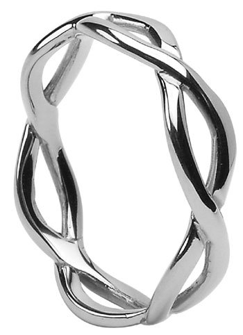 Sterling Silver Infinity Knot Band