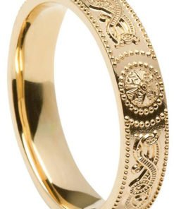 Celtic Shield Wedding Rings