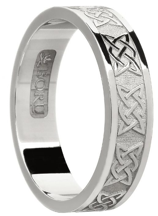 Sterling Silver Celtic Lover's Knot Band
