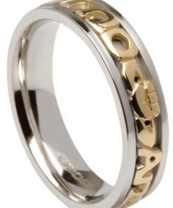 mo anam cara claddagh wedding ring