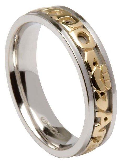 mo anam cara claddagh wedding ring