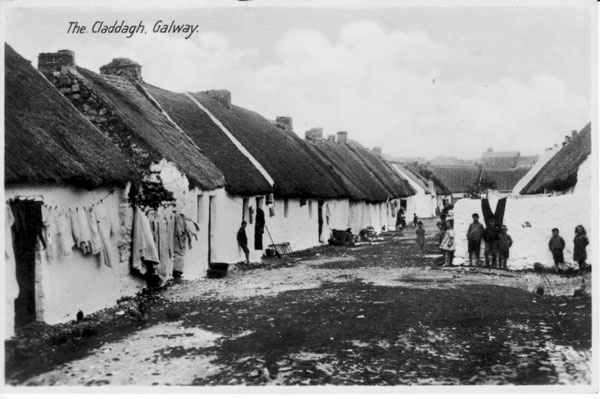 Claddagh Village in 1910