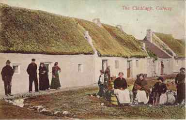 Claddagh Village in the Old Days