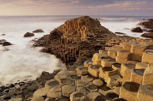 Giant's Causeway, one of Ireland's top tourist attractions.