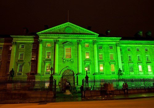 Saint Patrick's Day Illuminations