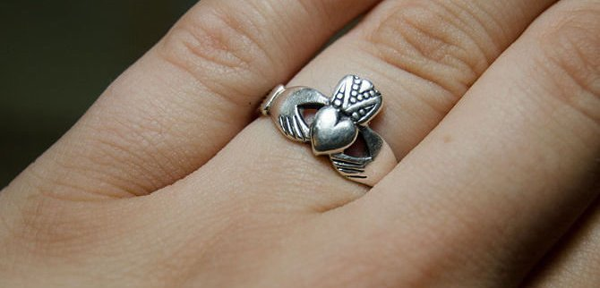 My Claddagh say's I'm taken.