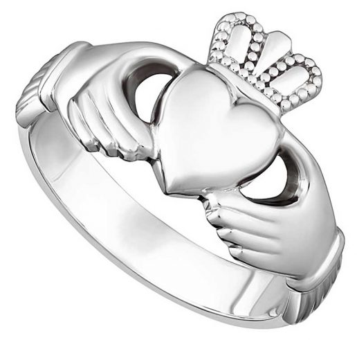 Men's Heavy Claddagh Ring