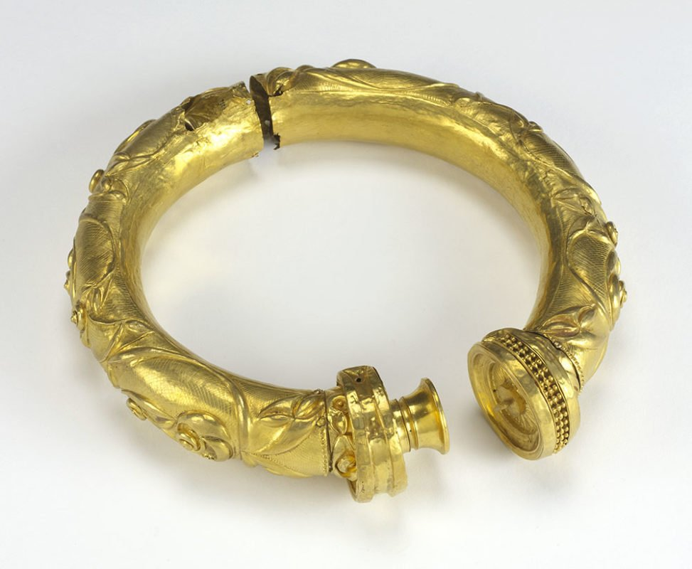 The Gold Broighter Collar. A masterpiece of ancient Celtic jewelry.