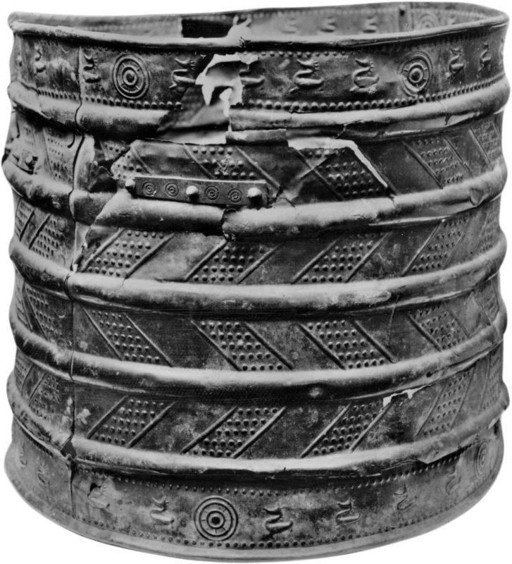 6th Century BC Celtic bucket.
