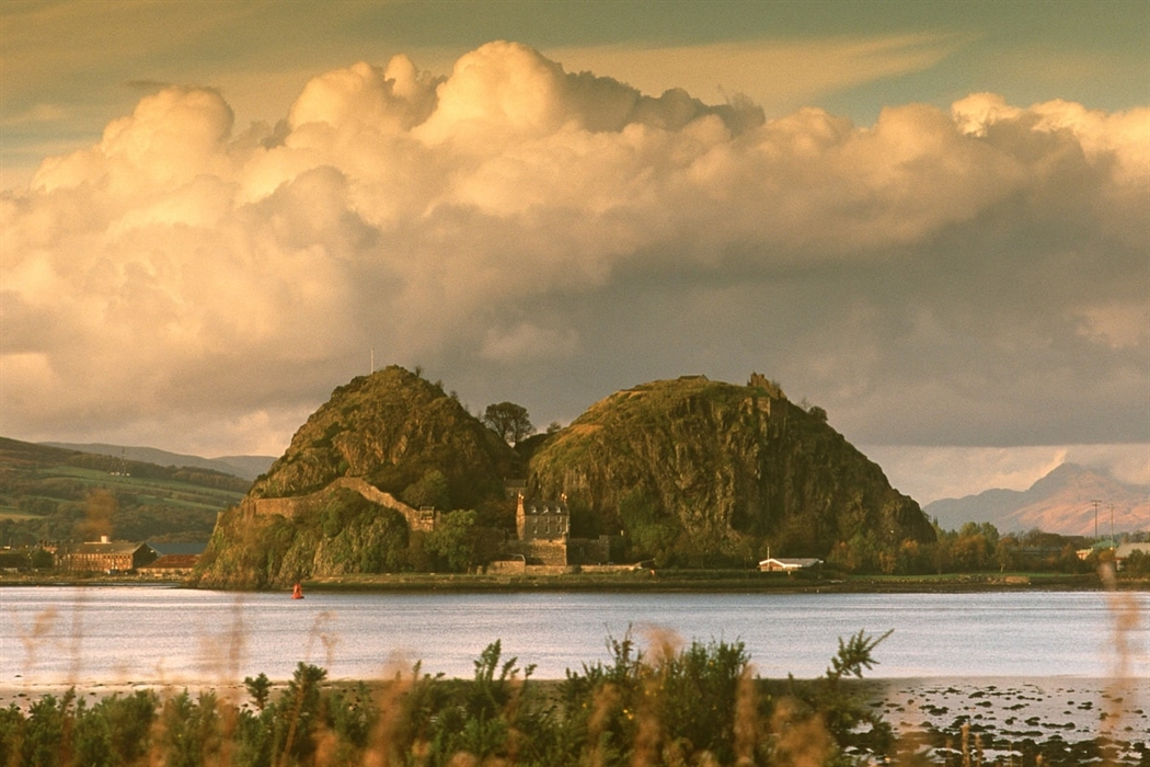 Dumbarton, fortress of the Britons on the Clyde