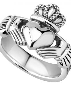 Traditional Men's Heavy Claddagh Ring